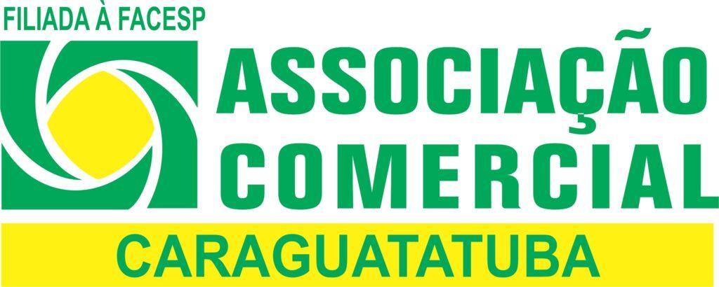 logotipo associação comercial de caraguatatuba